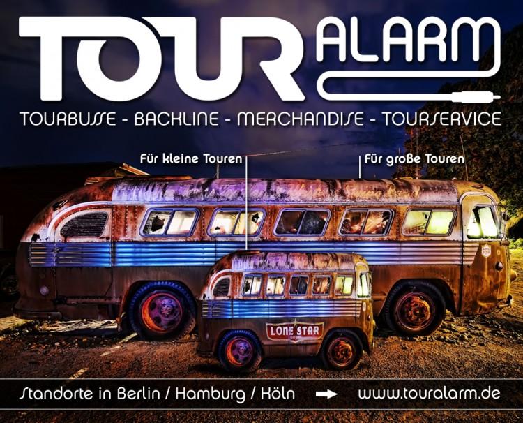 Touralarm-Tourbusvermietung