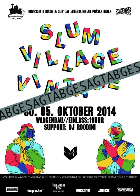 Abgesagt 2014-09-05-Flyer-Slum Village-Druck Kopie